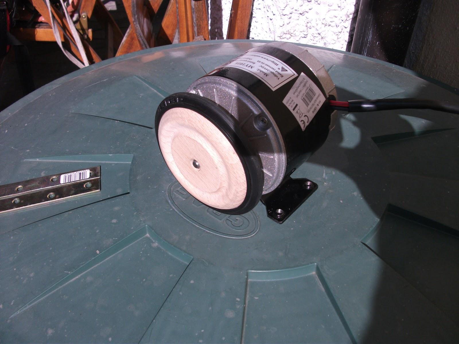 Bicicletta elettrica con il motore di una lavatrice for Prezzi del garage della carrozza
