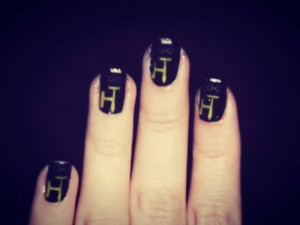 hackers tribe nails art by Ilaria Boideff