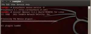 proxychains nessus service