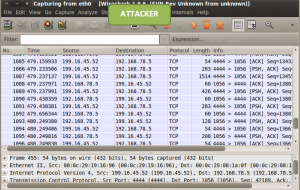 tcp scan attacker