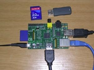 Raspberry Pi con drive esterno