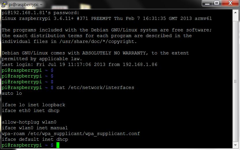 Raspberry Pi - Assegnare un indirizzo IP statico   Hackers Tribe