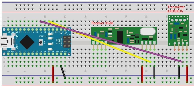 Domotica e internet of things tramite sensori a mhz