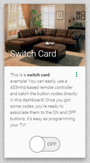 switch card